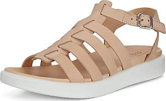 Ecco FLOWTLXW, Ankle Strap Sandals Womens, Beige (POWDER 2211), 6 UK EU