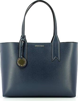 Emporio Armani FRIDA SHOPPING BAG Y3D081YH15A-88293 BLU NOTTE/NERO