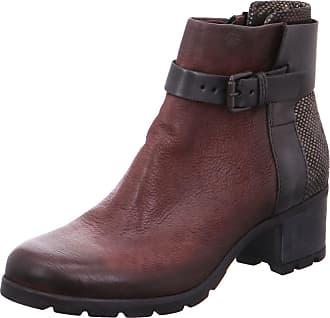 7e693e11122 Mjus Womens 843203-0201-0003 Boots Red 0003 Rouge Nero LONTRA