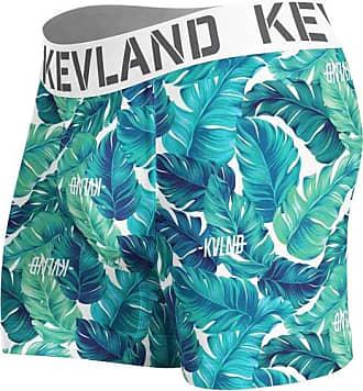 Kevland Underwear cueca boxer kevland folhagem verde (1, GG)