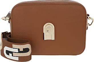 Furla Cross Body Bags - Sleek Mini Crossbody Cognac - brown - Cross Body Bags for ladies