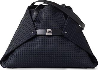 MQaccessories Small Shoulder Bag in Techno Trapezoid fabric