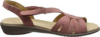 Hotter Womens Flare Open-Toe Sandals, Pink (Salmon), 4.5 UK 37.5 EU