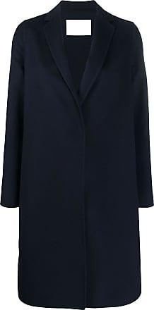 Fabiana Filippi mid-length single-breasted coat - Blue