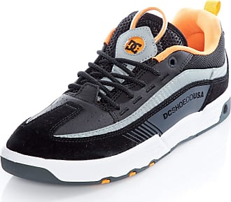 DC Shoes Legacy 98 Slim S Black/Orange/Grey Skate Shoes