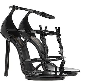 Saint Laurent Sandals - Cassandra Sandals Black - black - Sandals for ladies
