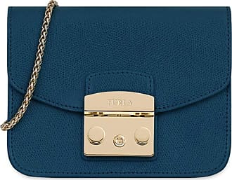 Furla Bag Metropolis Mini Crossbody 1007251 ATLANTICO Blu