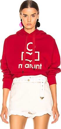 Isabel Marant Mansel Hoodie in Red