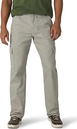 Wrangler Mens Authentics Classic Cargo Twill Pant, Khaki Dust, 36x32