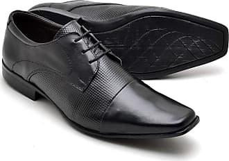 Di Lopes Shoes Sapato Masculino Social em Couro. (42, Preto)