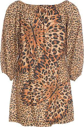 b78eecf6b4 Farm Vestido Curto Borboleta de Onça Farm - Animal Print