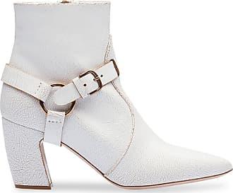 Miu Miu Ankle boot clássica - Branco