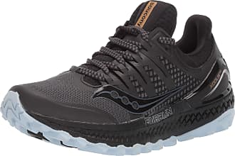 Saucony Womens Xodus Iso 3 Competition Running Shoes, Black (Grey/Black 3), 7.5 UK
