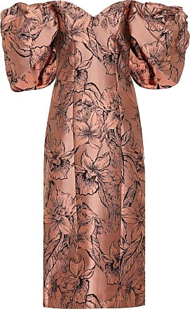 Johanna Ortiz Synchronicity silk-blend midi dress