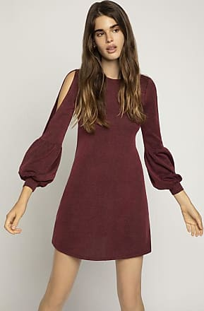 BCBGeneration Balloon Sleeve A-Line Dress