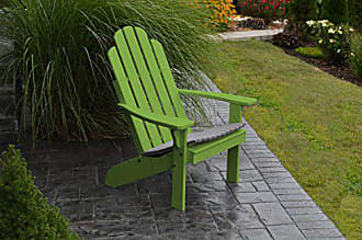 A & L Furniture A & L Furniture Yellow Pine Kennebunkport Adirondack Chair, Lime