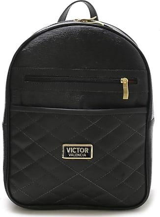 Victor Valência Bolsa mochila Veneza Feminina Victor Valencia (preto)