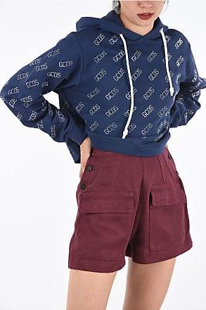 GCDS Hoodie Crop Sweatshirt size M