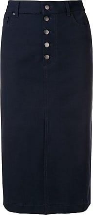 Joseph front slit skirt - Blue