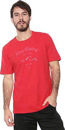 Wave Giant Camiseta WG Riding Vermelha