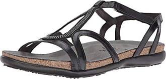 Naot Naot Footwear Womens Tamara Sandal Black Madras Combo 4 M US