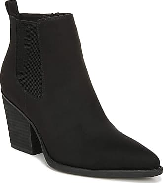 Naturalizer Womens Micah Ankle Boot, Black Fabric, 7.5 Wide