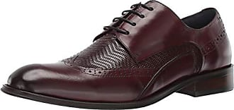 Stacy Adams Mens Maguire Wing-Tip Lace-Up Oxford, Burgundy 15 M US