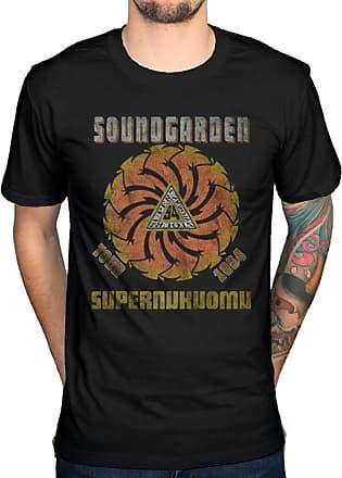AWDIP Official Soundgarden Superunknown Tour 94 T-Shirt King Animal Black