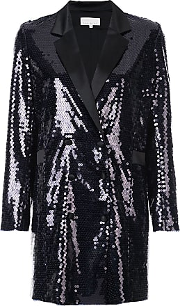 Fleur du Mal sequin embroidered blazer - Black