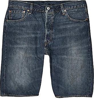 Levi's Mens Levis dark blue 501 denim shorts