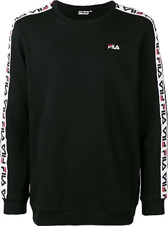 Fila logo side stripe sweatshirt - Black