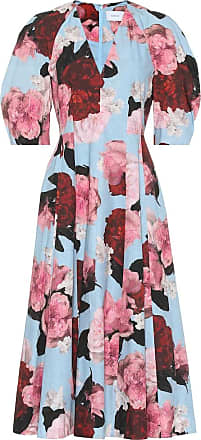 Erdem Exclusive to Mytheresa - Cressida floral cotton-poplin dress