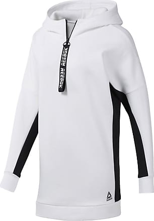 Classics hoodie with reflective back print in white exclusive to asos