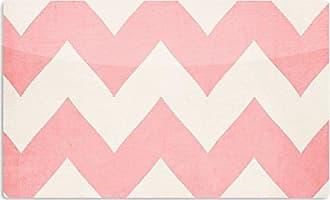 KESS InHouse Catherine McDonaldSweet Kisses Pink Chevron Artistic Aluminum Magnet, 2 by 3, Multicolor