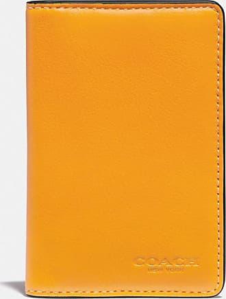 Coach Porte-cartes avec intérieur en toile exclusive
