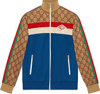 Gucci Jaqueta em jersey GG - Azul