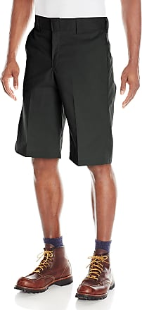 Dickies Mens 13 Inch Relaxed Fit Stretch Twill Work Short - Black - 36