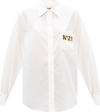 N°21 Shirt With Logo Womens White