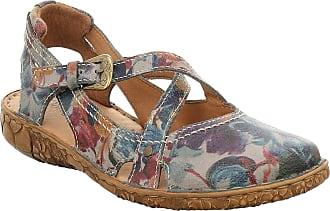 Josef Seibel Women Ballet Flats Rosalie 13, Ladies Strappy Ballerinas, Low Shoes,Mary-Jane Shoes,Summer Shoes,Graphit,39 EU / 5.5 UK