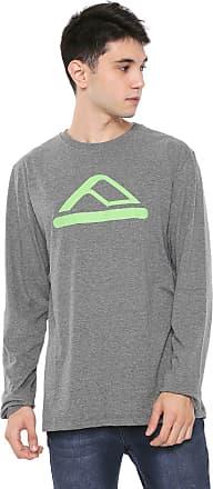 Reef Camiseta Reef Logo Cinza