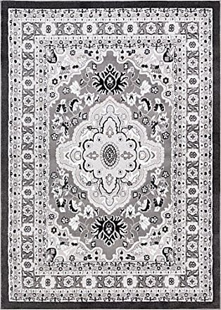 Well Woven 18584 Dulcet Raja Traditional Medallion Grey Area Rug 33 x 5, 33 x 5