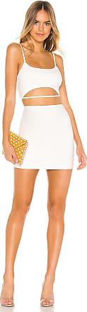 Superdown Arianna Cut Out Dress in White