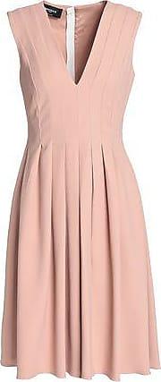 Rochas Rochas Woman Pleated Crepe Dress Blush Size 40