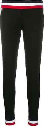 Rossignol striped trim leggings - Black