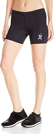 2XU Womens Compression Half Running Shorts - X Large Black