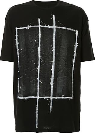 Thom Krom Camiseta com estampa gráfica - Preto