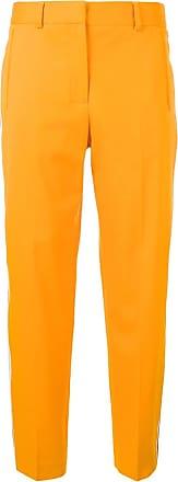 Calvin Klein Calça com listras laterais - Amarelo