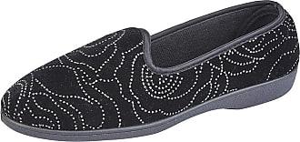Zedzzz Womens/Ladies Beverly Slippers (5 UK) (Black)