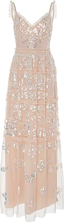 Needle & Thread Sequin-Embellished Georgette Gown
