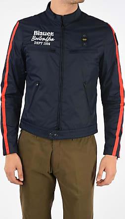 Blauer Biker Jacket Größe Xl